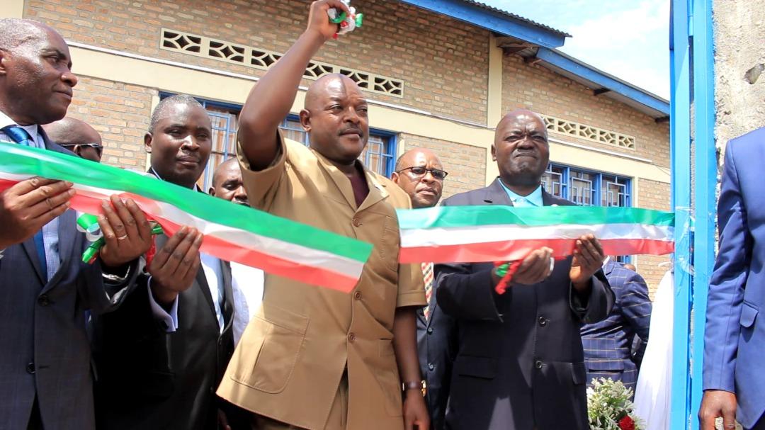 Burundi President Dedicates Power Pac Installation