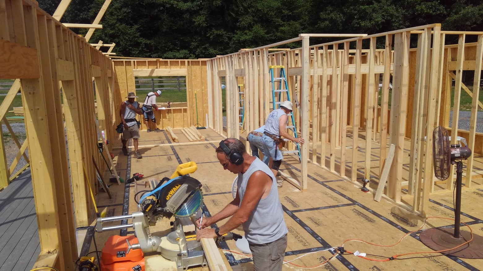 Interior partitions and framing